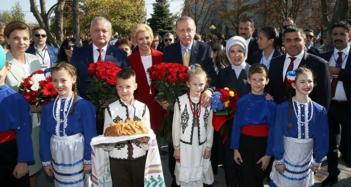 Erdoğan Moldova'da