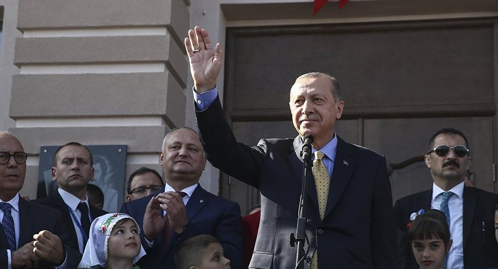 Recep Tayyip Erdoğan, Moldova