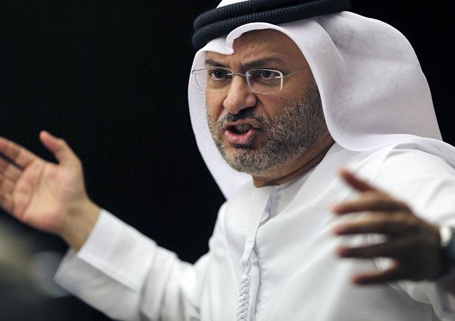 Birleşik Arap Emirlikleri (BAE) Dışişleri'nden Sorumlu Devlet Bakanı Enver Muhammed Gargaş