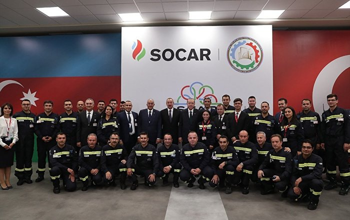 SOCAR Star Rafinerisi'nin açılış töreni