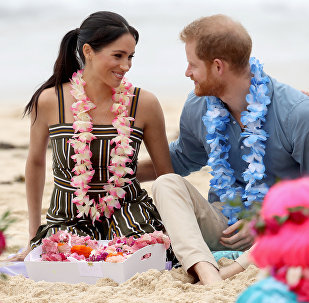 Prens Harry-Meghan Markle çifti, Avustralya'nın Sidney kentindeki Bondi plajında