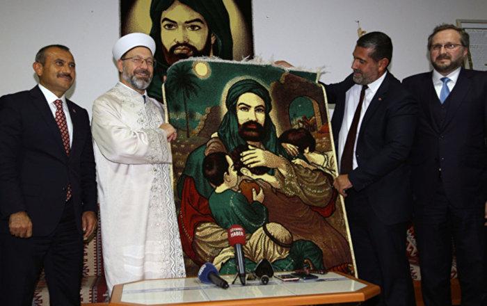 Diyanet İşleri Başkanı Erbaş'tan Cemevi'ne ziyaret ...