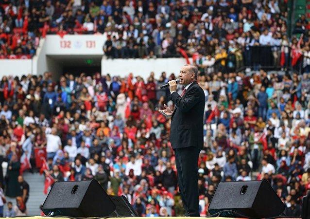 Erdoğan Diyarbakır Stadyumunu'nun açılışında