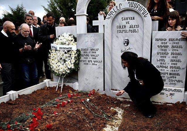 Ara Güler, Şişli Ermeni Mezarlığı'nda toprağa verildi.