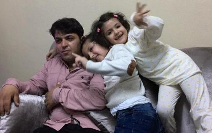 Annelerinin IŞİD'e kaçırdığı iki kardeş, 4 yıl sonra babalarına kavuştu