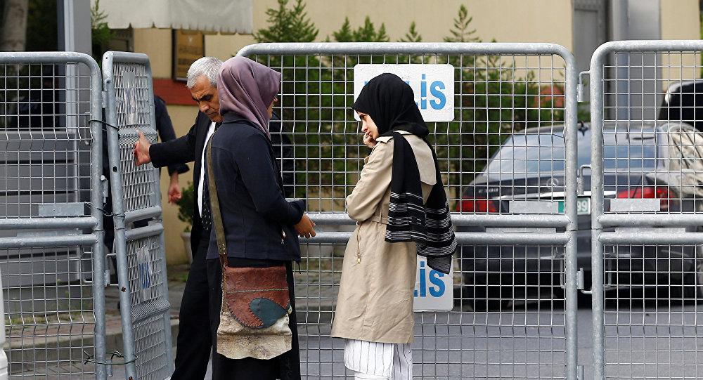Suudi Arabistan yönetiminin, 2 Ekim'de girdiği İstanbul Başkonsolosluğu'nda öldüğünü açıkladığı Washington Post Yazarı Cemal Kaşıkçı'nın nişanlısı Hatice Cengiz