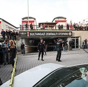 Suudi Arabistan'ın İstanbul Başkonsolosluğu'na ait diplomatik plakalı araç