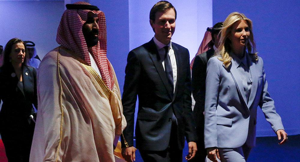 Muhammed bin Selman-Jared Kushner-Ivanka Trump Riyad'daki Aşırılıkçı İdeolojiyle Mücadele İçin Küresel Merkez'de