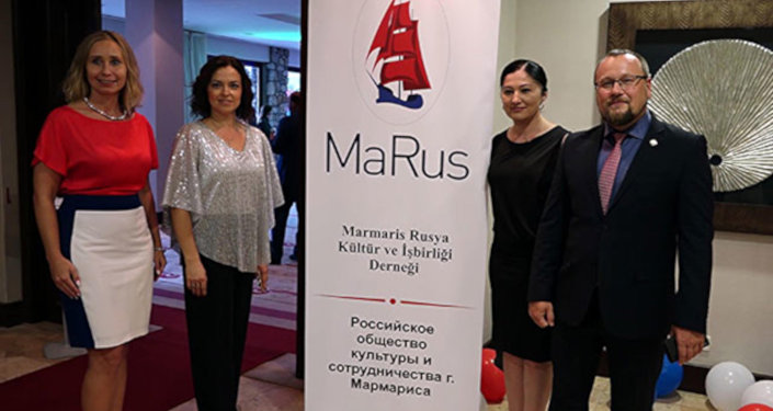 Marmaris-Rusya Kültür ve İşbirliği Derneği açıldı