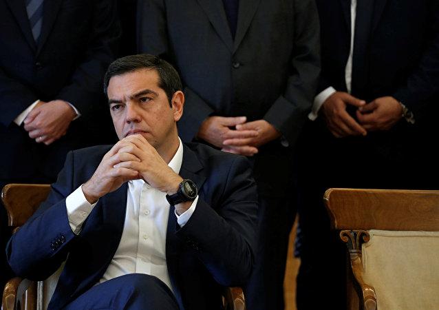 Yunanistan Başbakanı ve Dışişleri Bakanı Aleksis Çipras