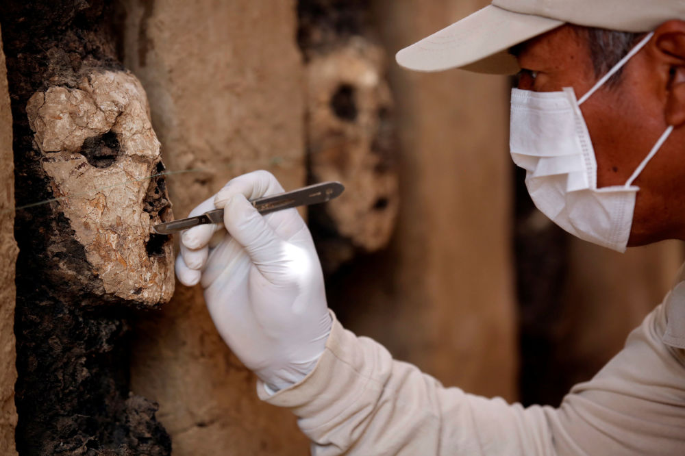 Peru'da 800 yıllık ahşap heykeller bulundu