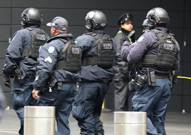 New York'ta güvenlik güçlerinin arama yaptığı Time Warner Merkezi boşaltıldı