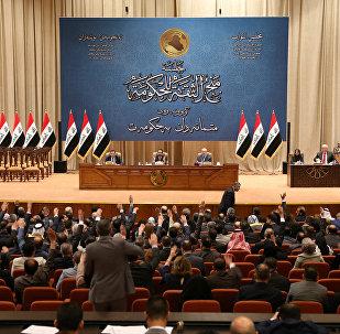 Irak Parlamentosu'nda kabine oylaması