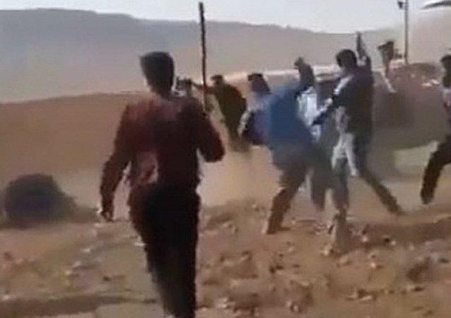 Şanlıurfa'da silah, sopa, taşlı arazi kavgası