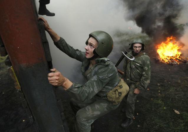 Belarus'ta bordo bereliler tatbikatı