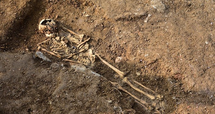 Haydarpaşa'da 1000 yıllık iskelet bulundu