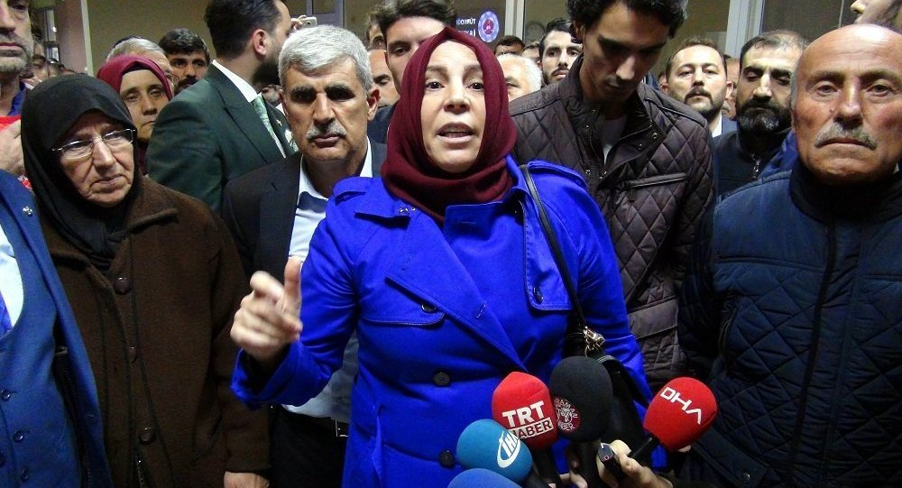 Muhsin Yazıcıoğlu'nun eşi Gülefer Yazıcıoğlu