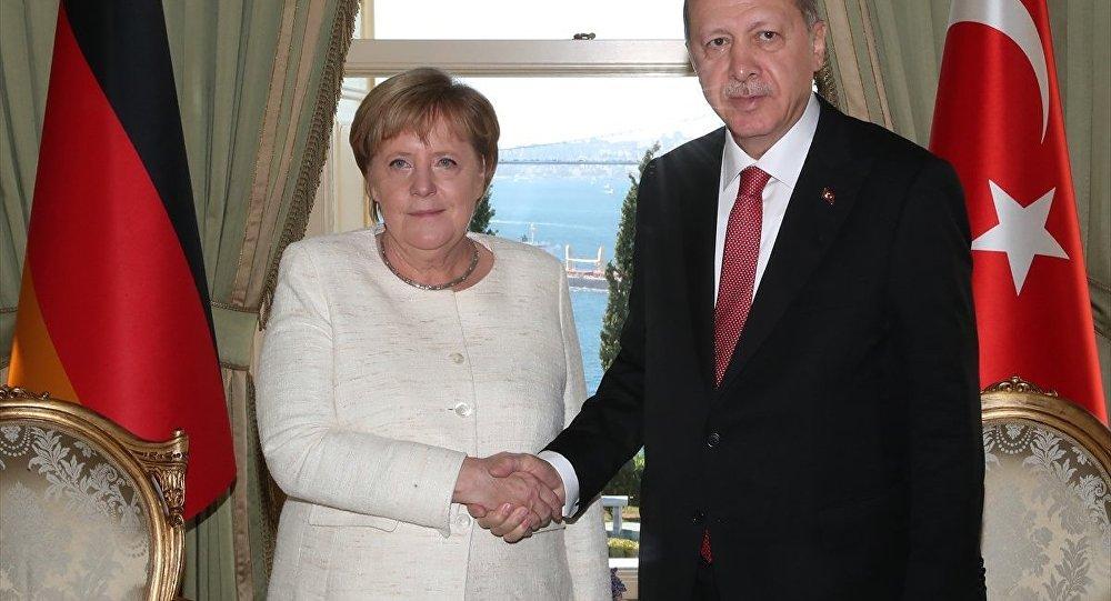 Erdoğan - Merkel
