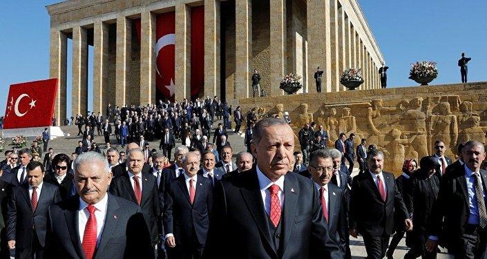 Recep Tayyip Erdoğan, Anıtkabir, 29 Ekim Cumhuriyet Bayramı
