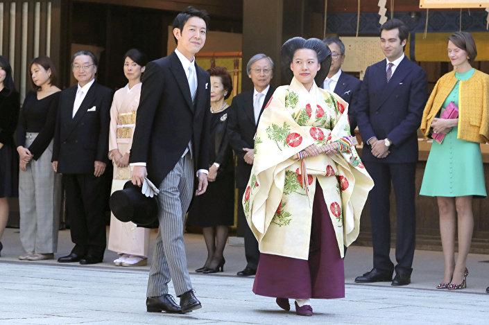 Japonya Prensesi Ayako evlendi