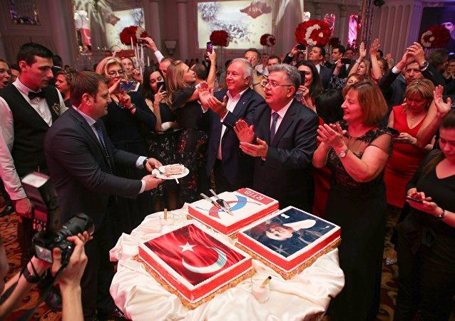 Rus-Türk İşadamları Birliği'nden coşkulu 29 Ekim kutlaması