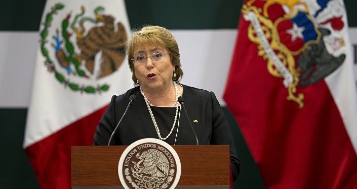 Chile's President Michelle Bachelet. File photo