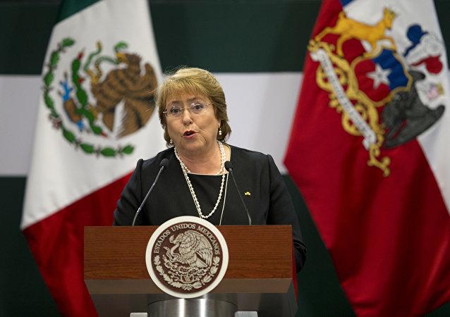 Chile's President Michelle Bachelet. File photo