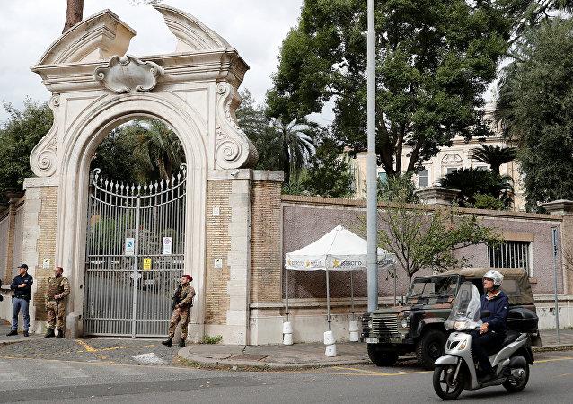Vatikan'ın Roma'da bulunan büyükelçilik binası
