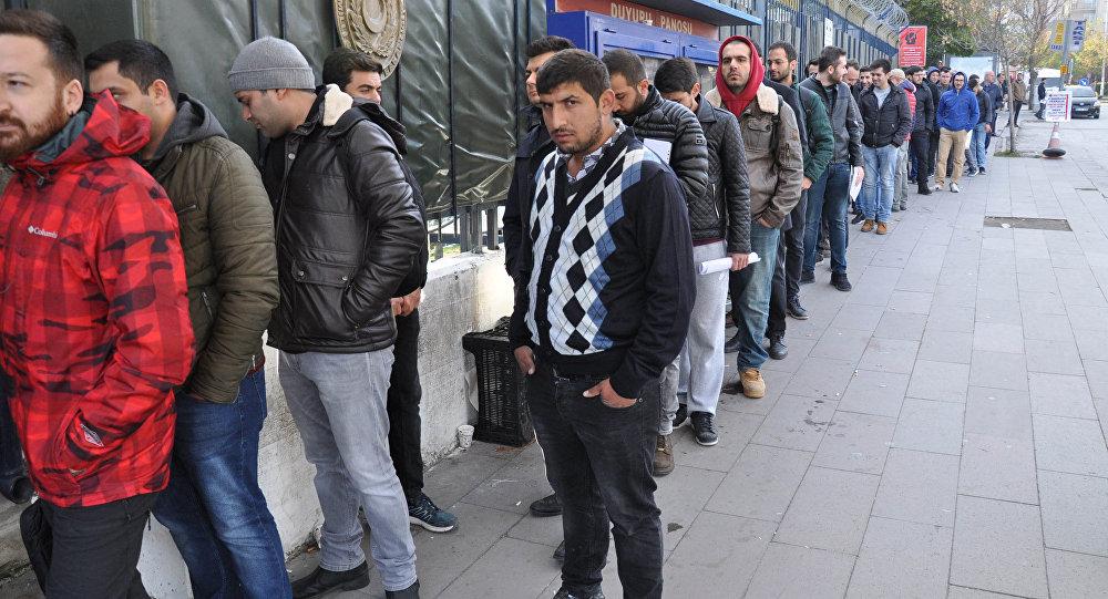 Ankara'da bedelli askerlik kuyruğu