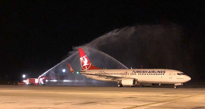 İstanbul Havalimanı'ndan ilk tarifeli yurt dışı sefer Kıbrıs'a yapıldı
