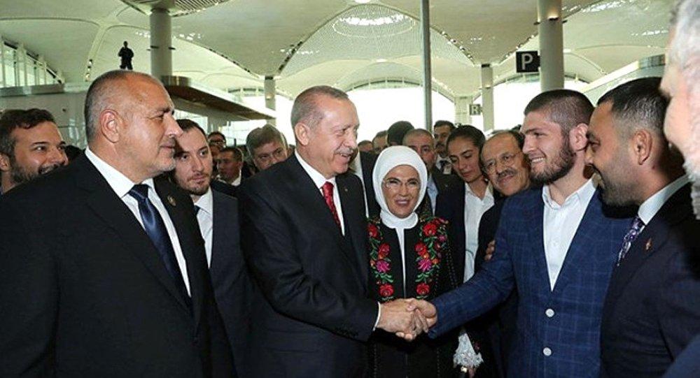 Recep Tayyip Erdoğan - Khabib Nurmagomedov