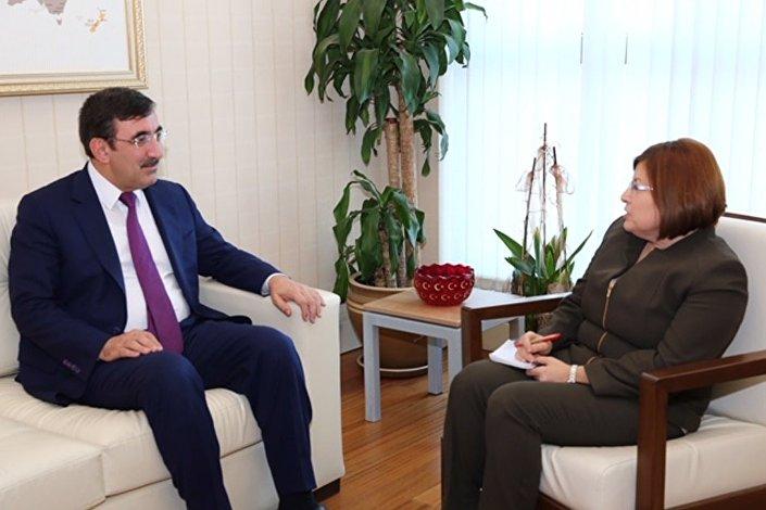 AK Parti Genel Başkan Yardımcısı Cevdet Yılmaz'ın Sputnik röportajı