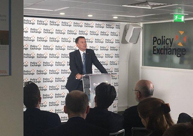 İngiltere Dışişleri Bakanı Jeremy Hunt