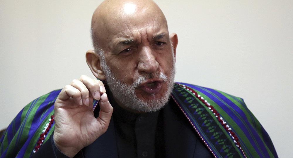 Eski Afganistan Cumhurbaşkanı Hamid Karzai