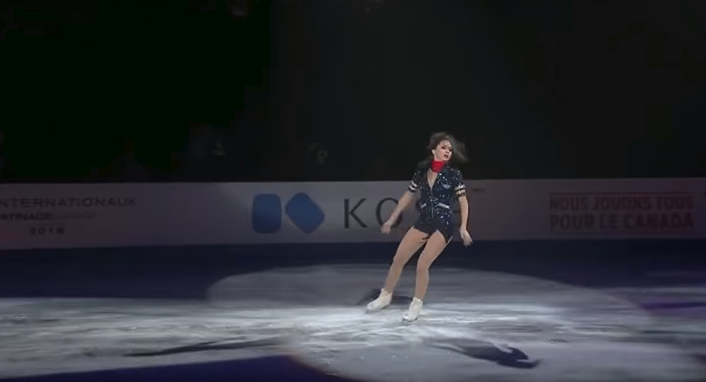Rus atlet Yelizaveta Tuktamişeva