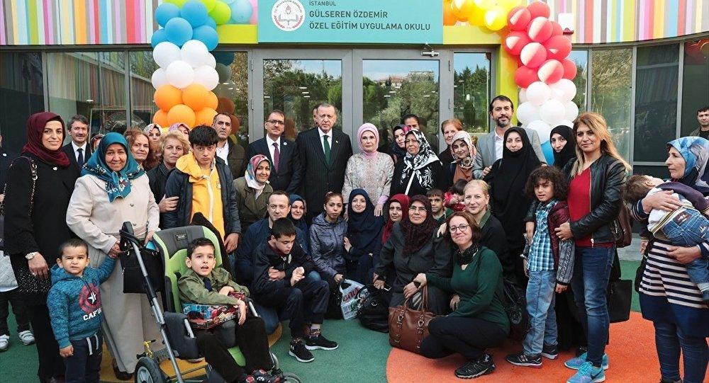 Recep Tayyip Erdoğan, okul açılışı
