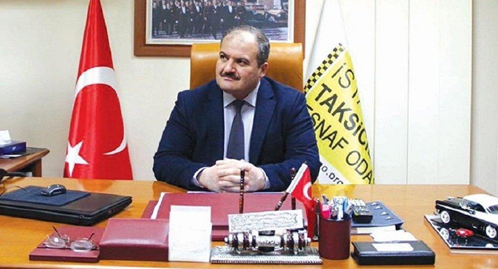 İstanbul Taksiciler Esnaf Odası Başkanı Eyup Aksu