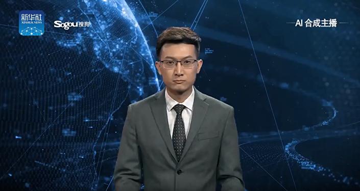 Çin - Yapay zeka haber sunucusu