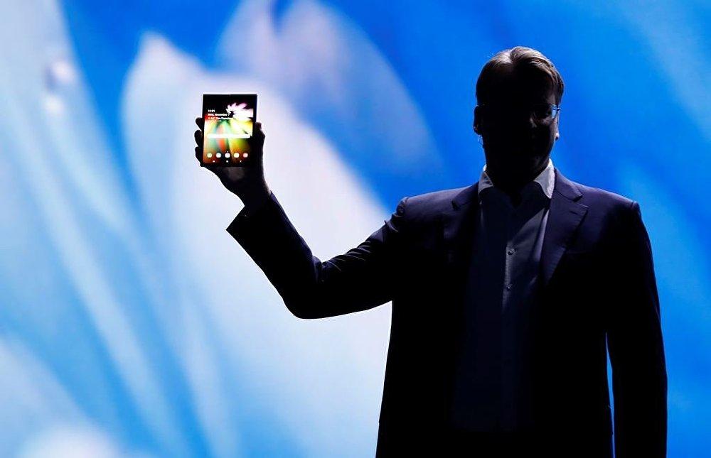Samsung'un katlanabilir ekranlı telefonu