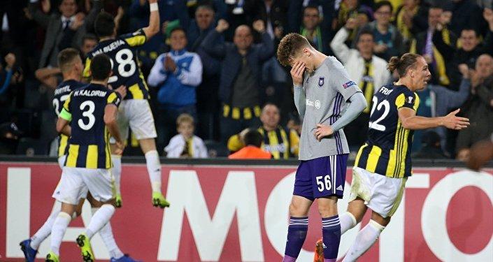 Fenerbahçe-Anderlecht karşılaşması