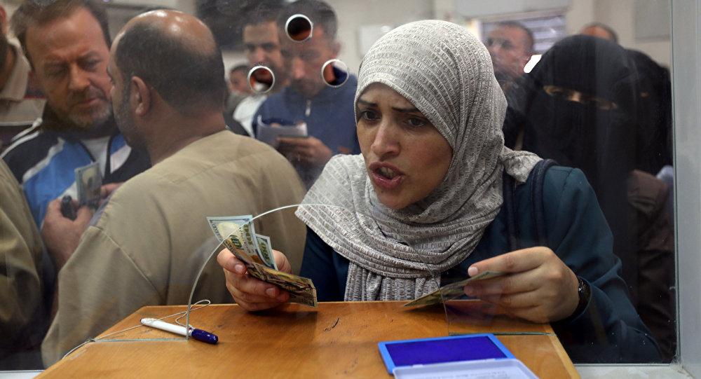 Gazze'de devlet memurları aylar sonra ilk kez maaş aldı
