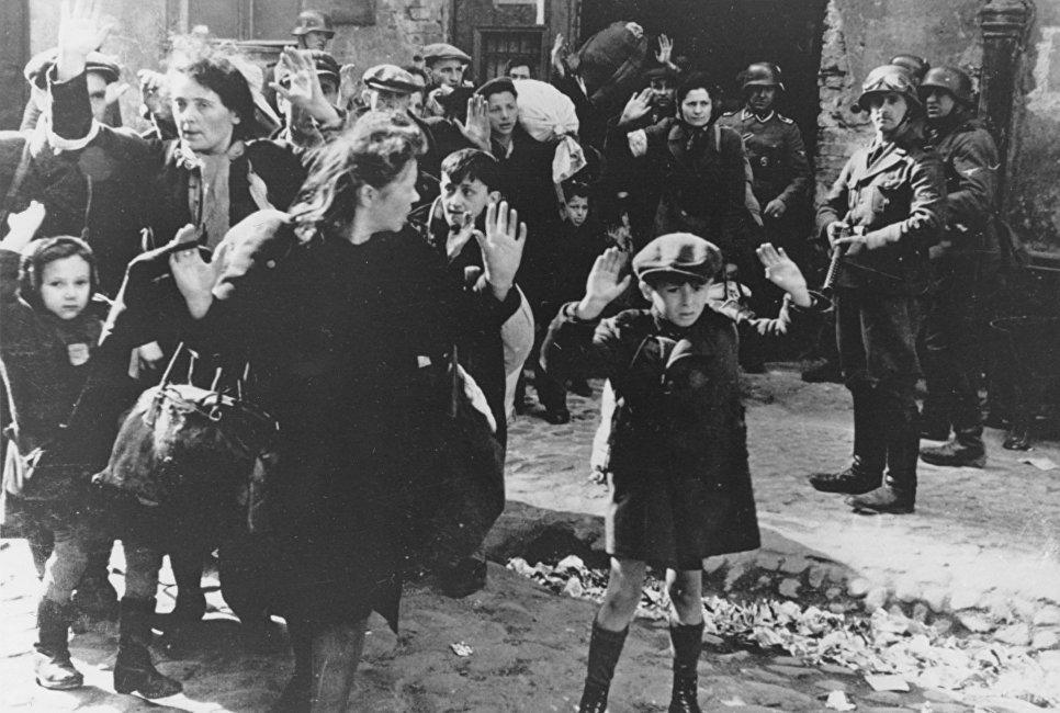 Varşova gettosundaki Yahudiler, 19 Nisan 1943