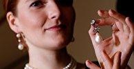 Fransa'nın son kraliçesi Marie Antoinette'e ait inci ve elmas kolye