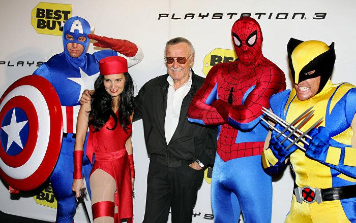 Stan Lee, ölmeden önce bir kahraman daha yaratmış
