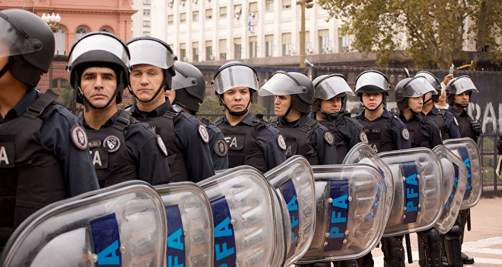 Argentina police