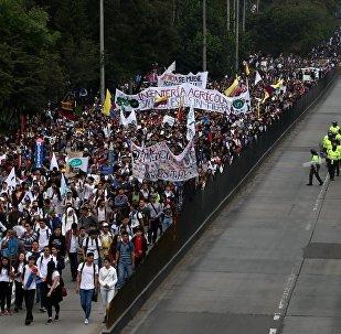 Kolombiya- Gösteri