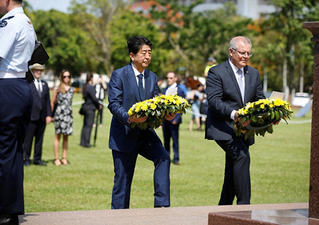 Japonya Başbakanı Şinzo Abe- Avustralya