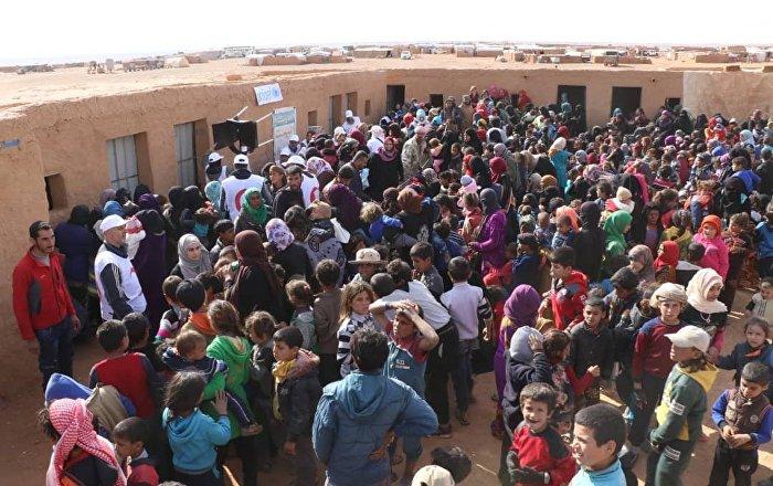 Rusya ve Suriye'den çağrı: Rukban kampında insan hakları ihlalleri var