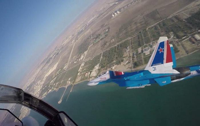 Bahreyn - şov - Rus uçakları