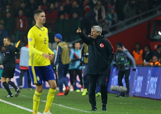 Türkiye A Milli Futbol Takımı Teknik Direktörü Mircea Lucescu